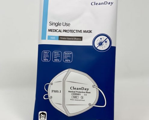 N95 Particulate Respirator Face Mask