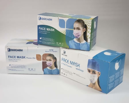 Dochem Hypoallergenic Disposable Face Mask