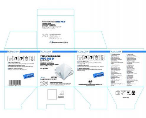 FFP2 Foldable Respirator Mask